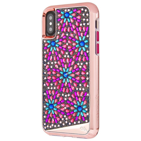 CASEMATE BRILLIANCE TOUGH GENUINE CRYSTAL CASE FOR iPHONE X - BROOCH
