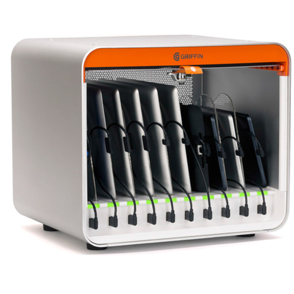 Get the latest stock 30 BAY MULTIDOCK 2 CHARGING STATION FROM GRIFFIN FOR IPHONE/IPAD/TABLETS FROM BELKIN with free shipping online.
