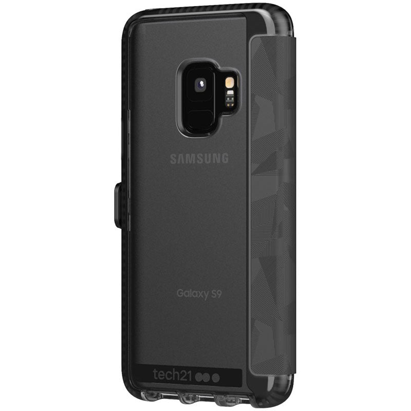 easy to use tech21 evo wallet card folio case for galaxy s9 Australia Stock