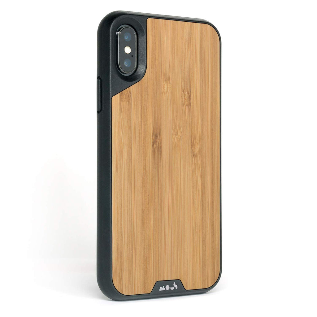 new arrival 2e4aa b2a6d MOUS LIMITLESS 2.0 AIROSHOCK PROTECTIVE CASE FOR IPHONE XS/X - BAMBOO