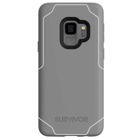GRIFFIN SURVIVOR STRONG CASE FOR GALAXY S9 - GREY/WHITE