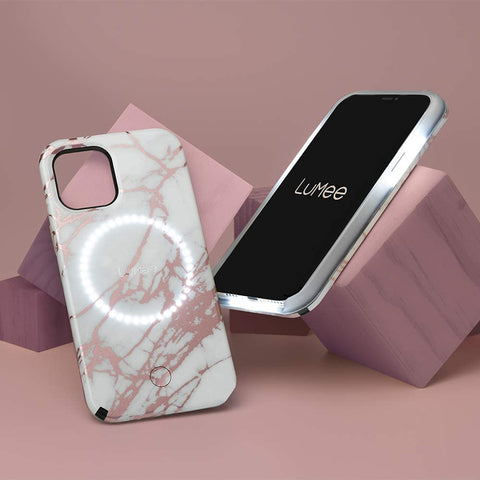 Selfie case comes with studio lighting from LUMEE, now comes with free shipping Australia wide.