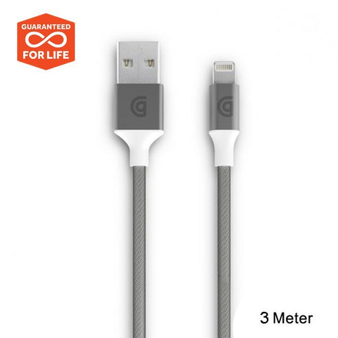 griffin iphone cable 3 meter. Strong braided and durable lighting cable