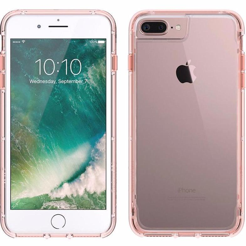 buy see through and sweet transparent cases from Griffin Survivor Clear Rugged Case for iPhone 8 Plus/7 Plus/6S Plus - Rose Gold. Free express shipping Australia wide from authorized distributor Syntricate. Australia Stock