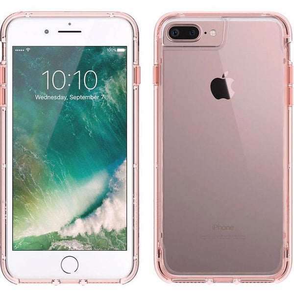 buy see through and sweet transparent cases from Griffin Survivor Clear Rugged Case for iPhone 8 Plus/7 Plus/6S Plus - Rose Gold. Free express shipping Australia wide from authorized distributor Syntricate.