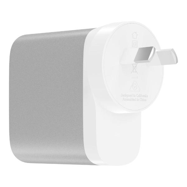 Shop Australia stock BELKIN BOOST CHARGE 27W USB-C + 12W USB-A WALL CHARGER - SILVER with free shipping online. Shop Belkin collections with afterpay Australia Stock