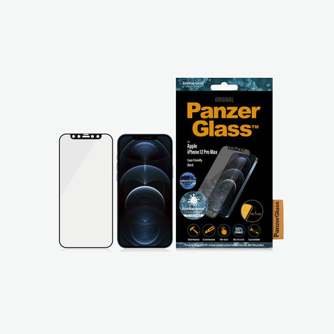 Panzer glass tempered glass with anti bacteri protection. Australia free shipping for your new iphone 12 pro max