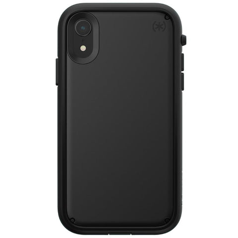 rugged case for iphone xr black colour from speck australia. buy online and get free shipping australia wide only at syntricate