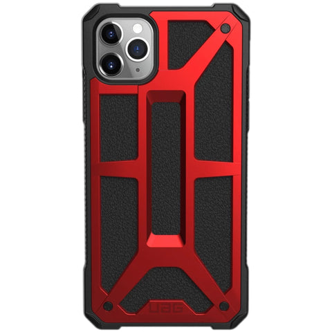 premium case for iphone 11 pro max. red rugged case.