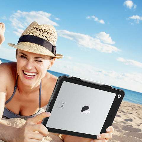 buy online waterproof case for ipad 10.2 inch with free shipping