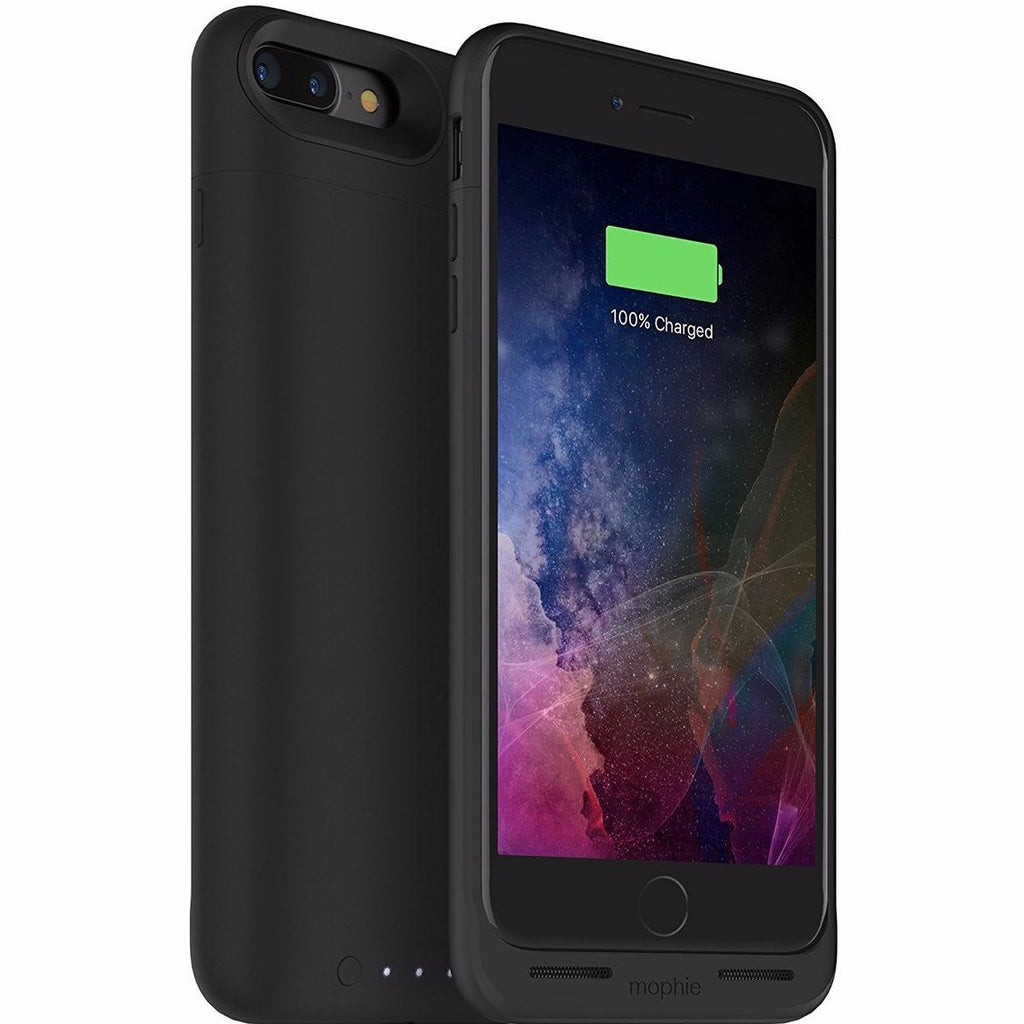 100% authentic fe69a 82577 Mophie Juice Pack Air Wireless Charging 2,420 mAh Battery Case For iPhone 8  Plus/7 Plus - Black