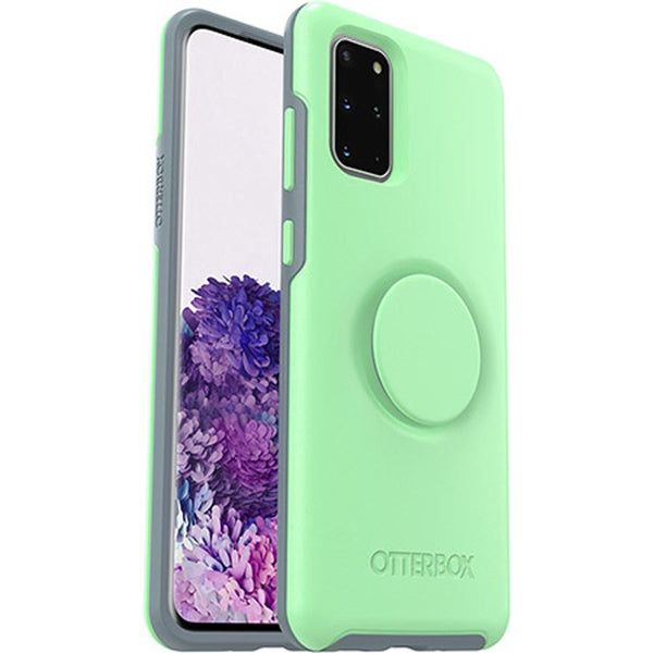 cute silicone case with pop socket and wireless charging compatible from otterbox australia