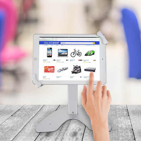 Shop Australia stock SMONET DESKTOP ANTI-THEFT KIOSK POS ENCLOSURE STAND HOLDER FOR iPAD/TABLETS with free shipping online. Shop Smonet collections with afterpay