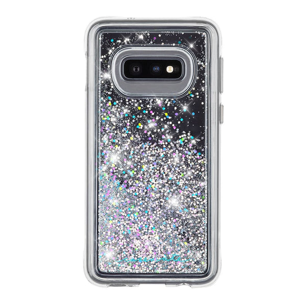 new silver glitter case for samsung galaxy s10e with free shipping.