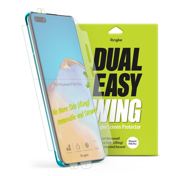 RINGKE Dual Easy Film Wing Screen Protector For Huawei P40 5G (6.1