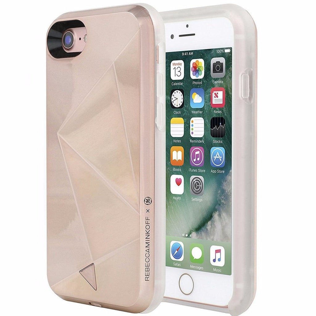 buy genuine rebecca minkoff glow selfie designer hard shell case for iphone 7 - rose gold australia Australia Stock