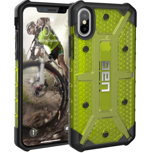 store to buy online Uag Plasma Armor Clear Shell Case For Iphone X - Citron official distributor australia wide Australia Stock