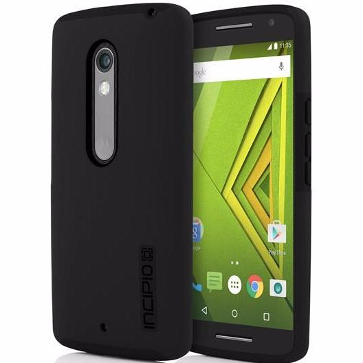 Where place to buy genuine Incipio DualPro Case for Motorolla Moto X Play/Droid Maxx 2 - Black. Trusted online store offer free express shipping Australia wide from authorized distributor Syntricate.