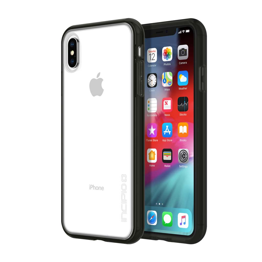 newest 803f0 acd6a INCIPIO OCTANE PURE TRANSLUCENT CO-MOLDED CASE FOR IPHONE XS MAX - BLACK