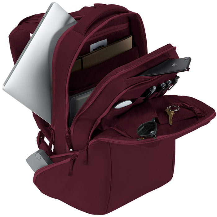 online store incase icon backpack bag for macbook, tab, ipad, tablet, notebook, laptop, netbook, deep red Colour australia Australia Stock