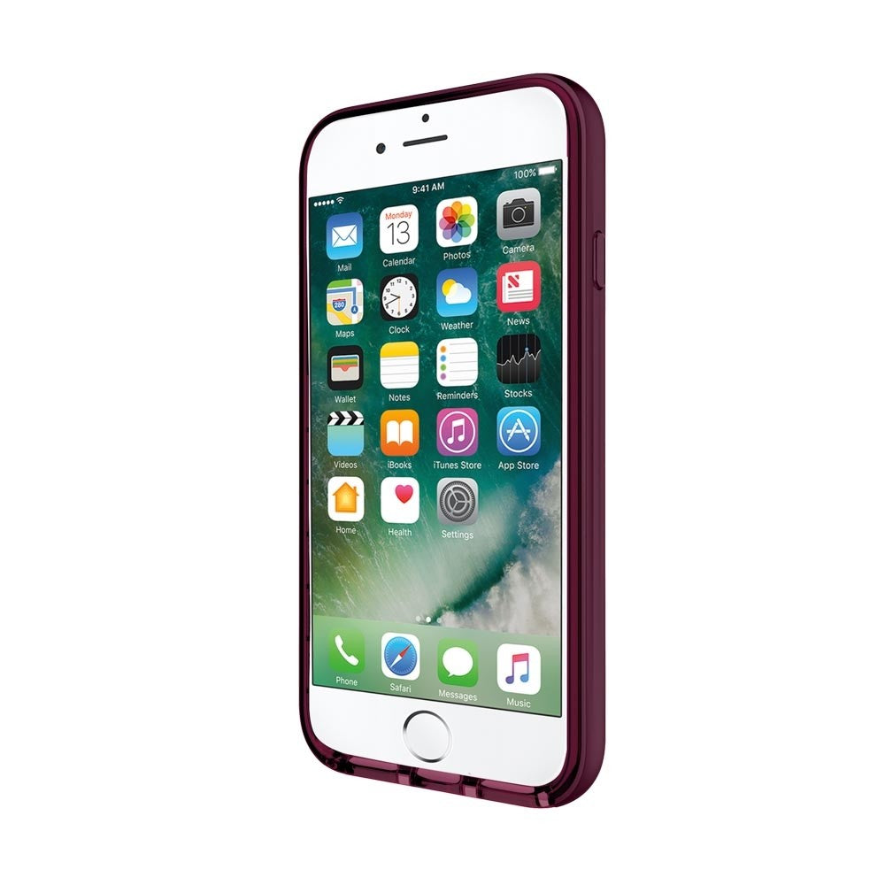 INCIPIO OCTANE LUX METALLIC ACCENTED BUMPERS CASE FOR iPHONE 8/7 - MERLOT Australia Stock