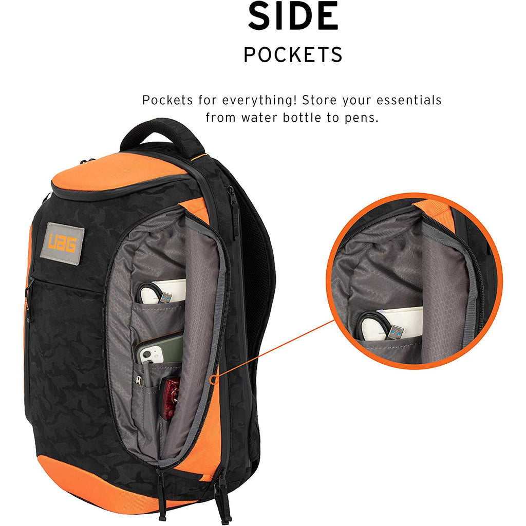 Shop Australia stock UAG Standard Issue 24-Liter Weather Resistant BackPack Bag - Orange Midnight Camo with free shipping online. Shop UAG collections with afterpay Australia Stock