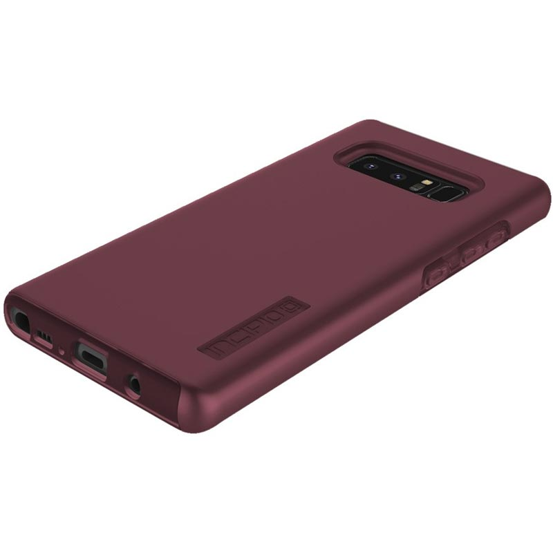 INCIPIO DUALPRO DUAL-LAYER SLIM PROTECTIVE CASE FOR GALAXY NOTE 8 - MERLOT Australia Stock