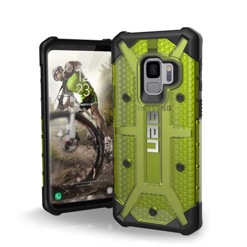 Best place to Buy genuine and new case Uag Plasma Armor Shell For Samsung Galaxy S9 Citron Colour Australia