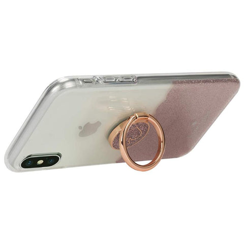 Place to buy GIFT SET PROTECTIVE CASE & RING STAND FOR IPHONE XS/X - SCALLOP ROSE GOLD/CLEAR FROM KATE SPADE NEW YORK online in Australia free shipping & afterpay.