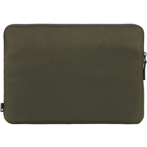 get genuine durable incase compact flight nylon sleeve for mac book pro 15 inch with touch bar olive australia
