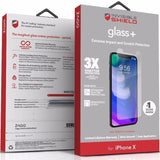 Shop Australia stock ZAGG INVISIBLESHIELD GLASS + TEMPERED SCREEN PROTECTOR FOR iPHONE X/XS with free shipping online. Shop Zagg collections with afterpay