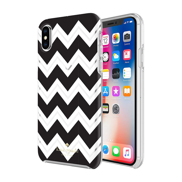 KATE SPADE NEW YORK PROTECTIVE HARDSHELL CASE FOR IPHONE XS/X - CHEVRON