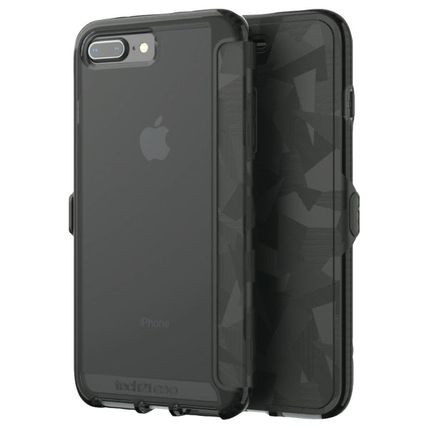 Shop Australia stock TECH21 EVO WALLET FLEXSHOCK FOLIO CASE FOR iPHONE 8 PLUS/7 PLUS - BLACK with free shipping online. Shop TECH21 collections with afterpay