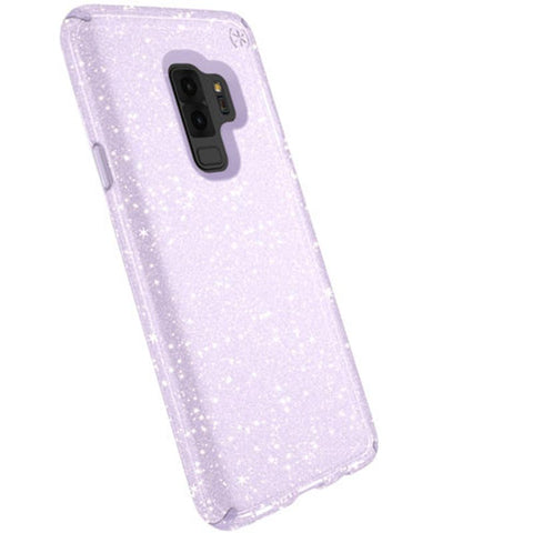 Speck Presidio Clear + Glitter Impactium Case For Galaxy S9+ Plus