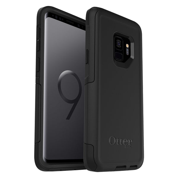 OTTERBOX COMMUTER DUAL LAYER CASE FOR GALAXY S9 - BLACK