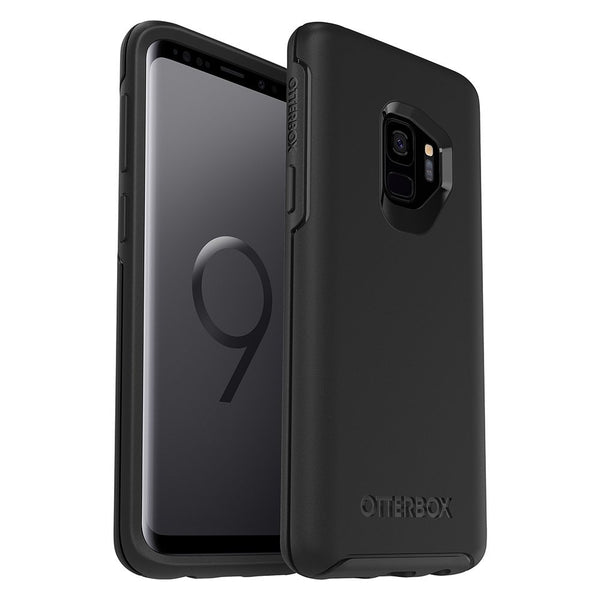 OTTERBOX SYMMETRY SLEEK STYLISH CASE FOR GALAXY S9 - BLACK