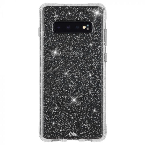 clear glitter case for samsung galaxy s10 australia stock from casemate with drop protection