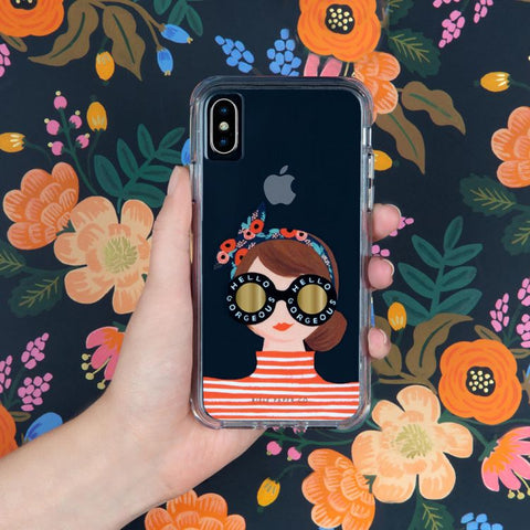 cute girly clear case for iphone 11 australia. buy online at syntricate with free shipping australia wide