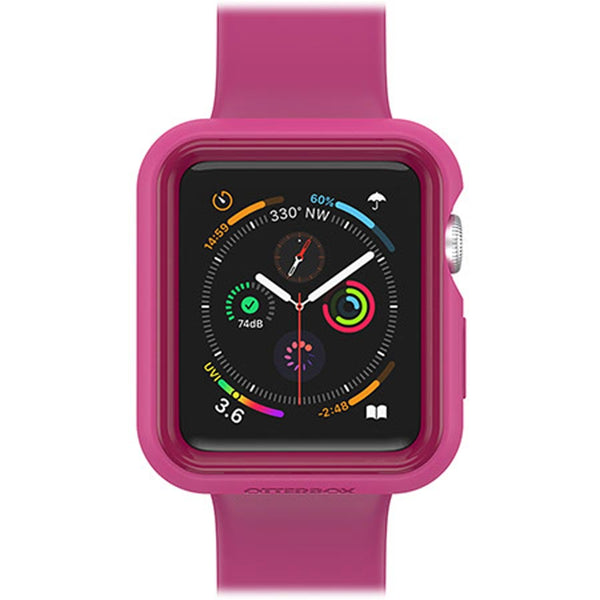 pink silicone case for apple watch series 3 (42mm) from otterbox australia