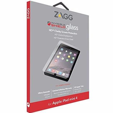 Shop Australia stock ZAGG INVISBLESHIELD GLASS TEMPERED SCREEN PROTECTOR FOR iPAD MINI 4 with free shipping online. Shop ZAGG collections with afterpay