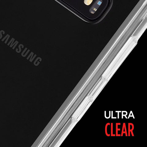 ultra clear case for Samsung Galaxy S10 plus from casemate with drop protection