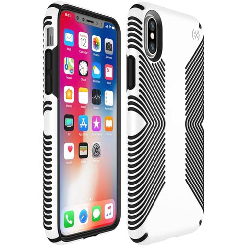 Trusted online store to shop and buy Speck Presidio Grip Impactium Case For Iphone X - White/Black. Free express shipping Australia wide from authorized distributor Syntricate. Australia Stock