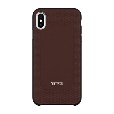 Shop Australia stock TUMI PROTECTIVE LEATHER CO-MOLD CASE FOR IPHONE XS MAX - BURGUNDY with free shipping online. Shop Tumi collections with afterpay
