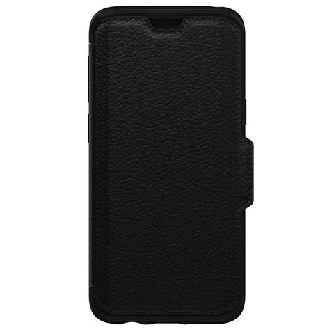OTTERBOX SYMMETRY STRADA LEATHER FOLIO CASE FOR GALAXY S9 - SHADOW