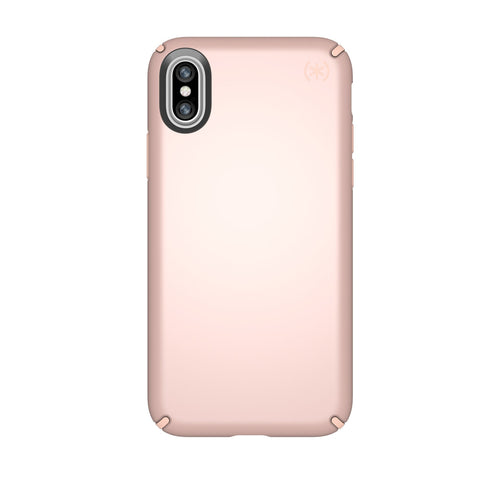 place to buy authorized online store genuine speck presidio metallic case for iphone x rose gold / dahlia peach colour