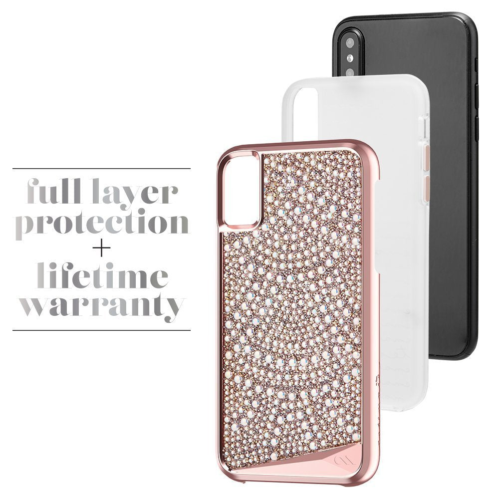 CASEMATE BRILLIANCE TOUGH GENUINE CRYSTAL CASE FOR iPHONE X - LACE Australia Stock