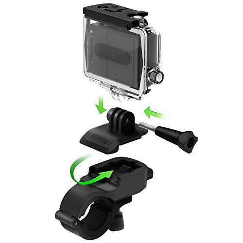 Shop Australia stock iOTTIE ACTIVE EDGE BIKE & BAR MOUNT FOR IPHONE/SMARTPHONES/GOPRO -BLACK with free shipping online. Shop iottie collections with afterpay Australia Stock