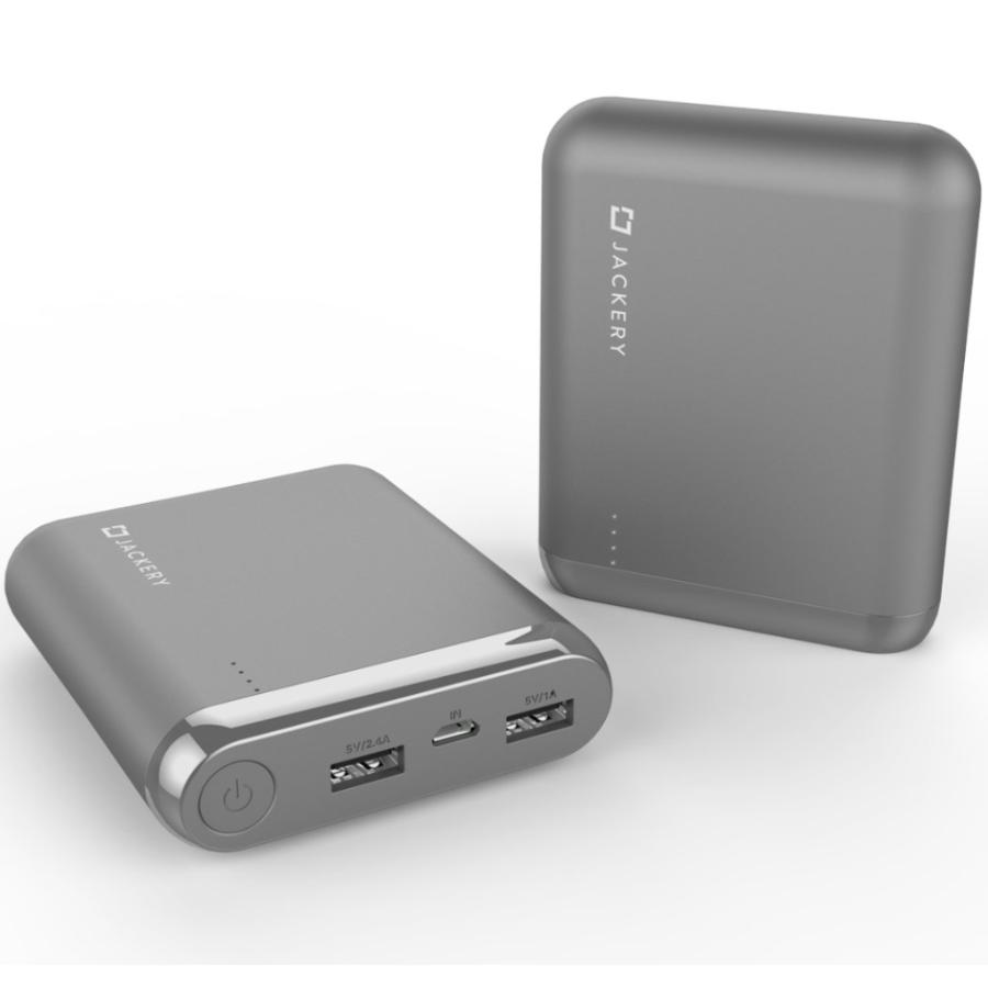 buy grey power bank for all smartphone from jackery australia. buy online and get free shipping Australia Stock