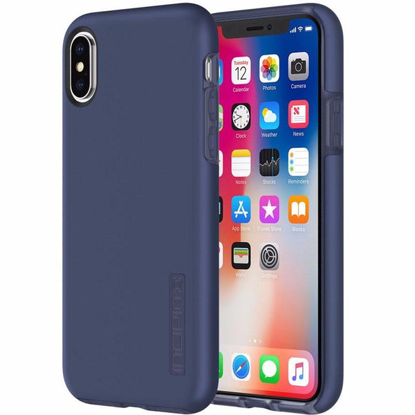 INCIPIO DUALPRO PROTECTIVE CASE FOR IPHONE X - IRIDESCENT MIDNIGHT BLUE