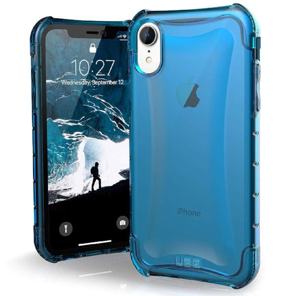 buy clear case blue colour for iphone xr from uag australia with free shipping.